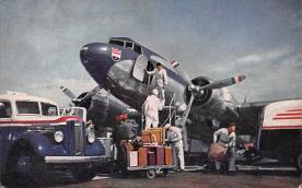 sub061585 - Airplane Post Card