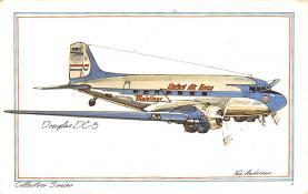 sub061591 - Airplane Post Card