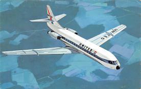 sub061603 - Airplane Post Card