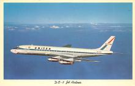 sub061613 - Airplane Post Card