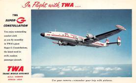 sub061665 - Airplane Post Card