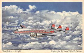 sub061669 - Airplane Post Card
