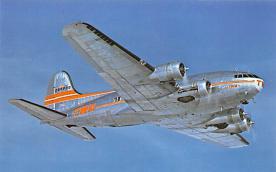 sub061675 - Airplane Post Card