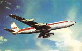 sub061687 - Airplane Post Card