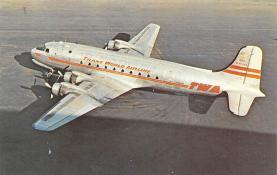 sub061691 - Airplane Post Card