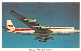 sub061697 - Airplane Post Card