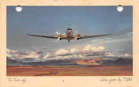 sub061701 - Airplane Post Card