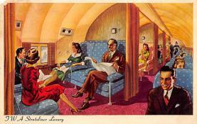 sub061709 - Airplane Post Card