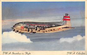 sub061711 - Airplane Post Card