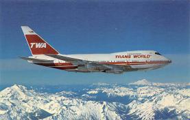 sub061731 - Airplane Post Card