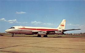 sub061743 - Airplane Post Card