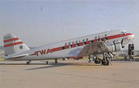sub061757 - Airplane Post Card