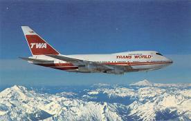 sub061761 - Airplane Post Card