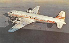 sub061791 - Airplane Post Card