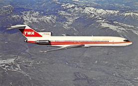 sub061795 - Airplane Post Card
