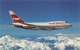 sub061825 - Airplane Post Card