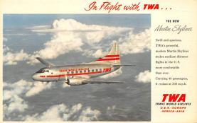 sub061841 - Airplane Post Card