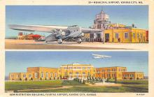 sub061957 - Airport Post Card