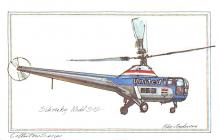 sub062629 - Helicopter Post Card