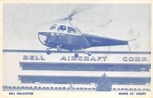 sub062637 - Helicopter Post Card