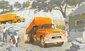 sub062733 - Trucks Post Card
