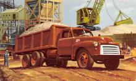 sub062973 - Trucks Post Card