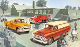 sub062975 - Trucks Post Card