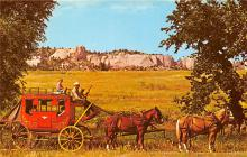 sub062999 - Stagecoach Post Card