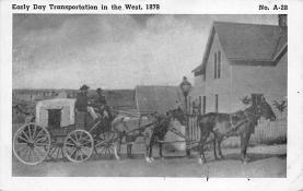 sub063009 - Stagecoach Post Card