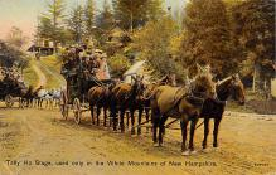sub063031 - Stagecoach Post Card