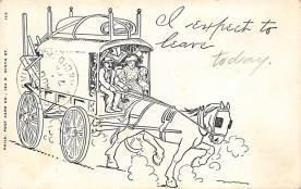 sub063043 - Stagecoach Post Card