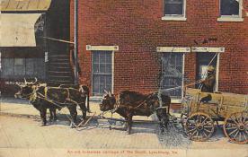 sub063081 - Stagecoach Post Card