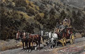 sub063087 - Stagecoach Post Card
