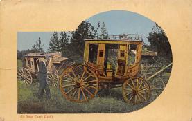 sub063095 - Stagecoach Post Card