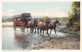 sub063143 - Stagecoach Post Card