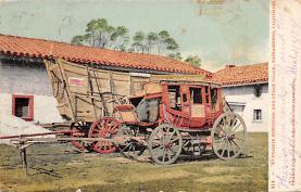 sub063145 - Stagecoach Post Card
