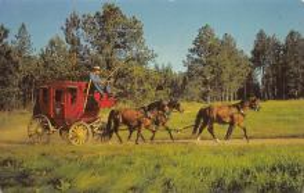 sub063151 - Stagecoach Post Card