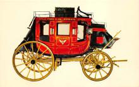 sub063175 - Stagecoach Post Card