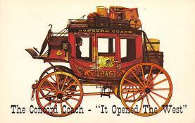 sub063209 - Stagecoach Post Card