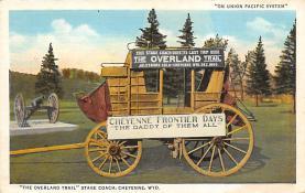 sub063219 - Stagecoach Post Card