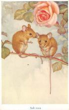 sub063637 - Mice Post Card Artist Noel Hopking