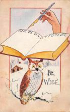 sub063687 - Owl Post Card