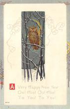 sub063691 - Owl Post Card