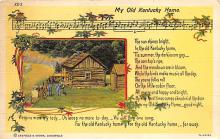 sub064637 - Music Related Post Card