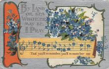 sub064677 - Music Related Post Card