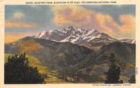 sub065337 - Yellowstone National Park Post Card