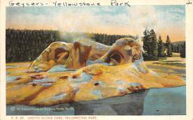 sub065369 - Yellowstone National Park Post Card