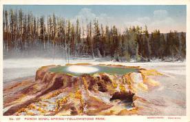 sub065387 - Yellowstone National Park Post Card