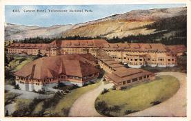 sub065417 - Yellowstone National Park Post Card
