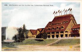 sub065421 - Yellowstone National Park Post Card